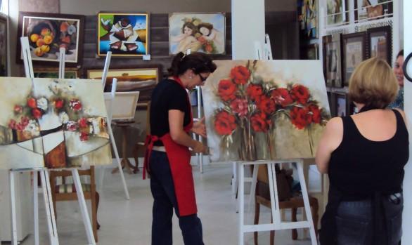 WORKSHOP - GALERIA MÁRCIA BASTOS E ASSOCIADOS & ARTESILO MOLDURAS - SANTA MARIA - Janeiro 2014